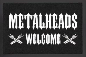 metalheads welcome wycieraczka