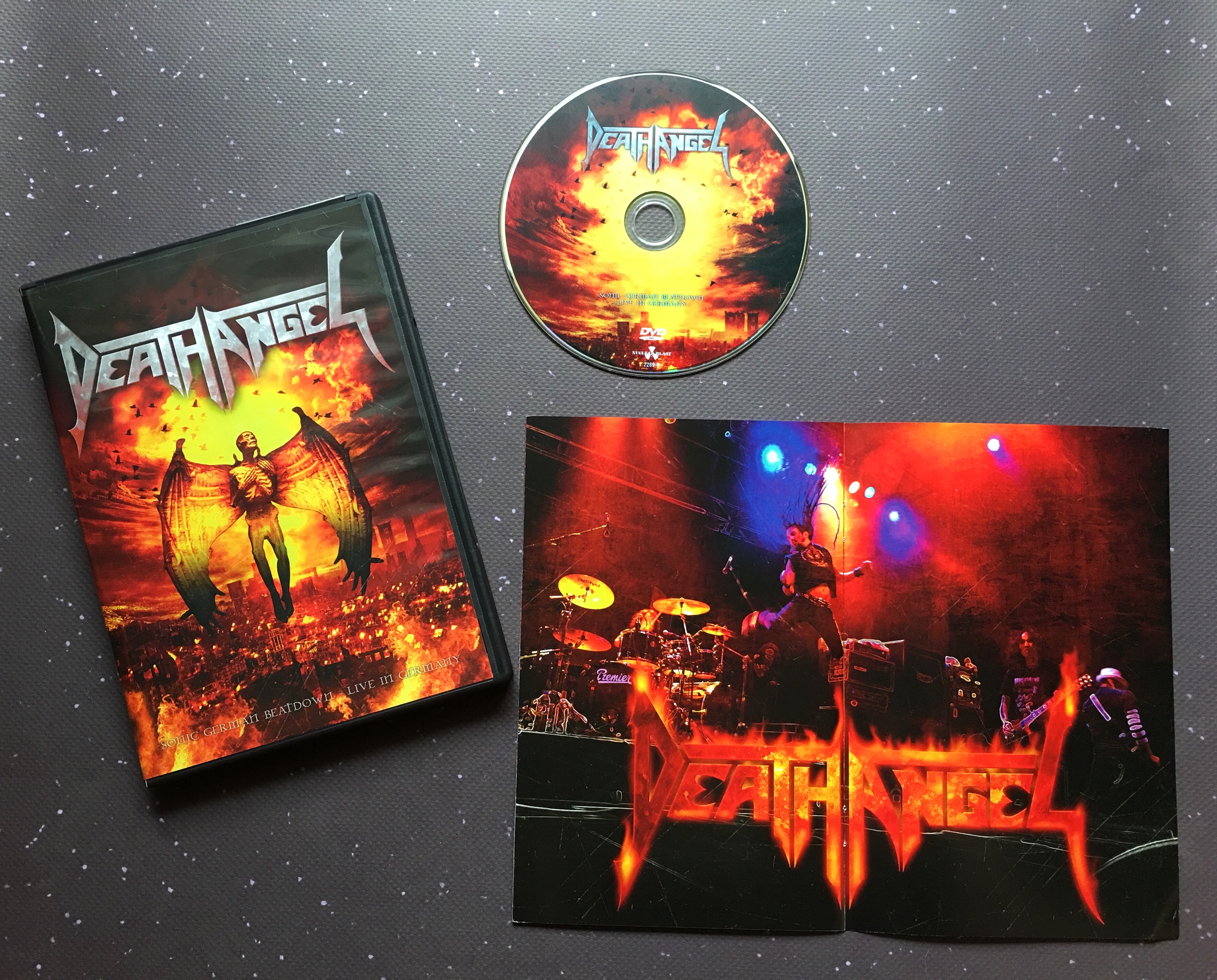 death angel concert dvd