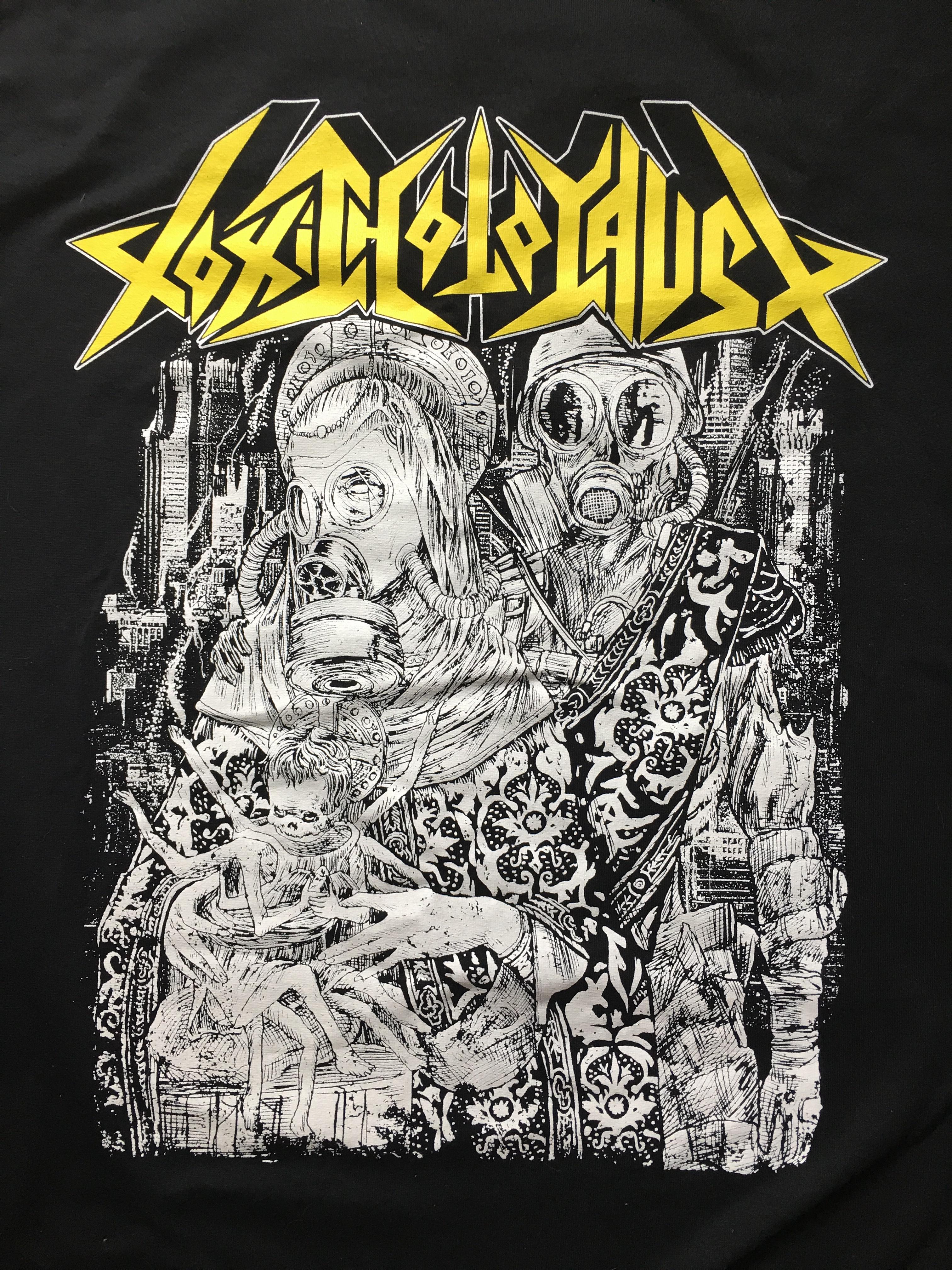 toxic holocaust tshirt