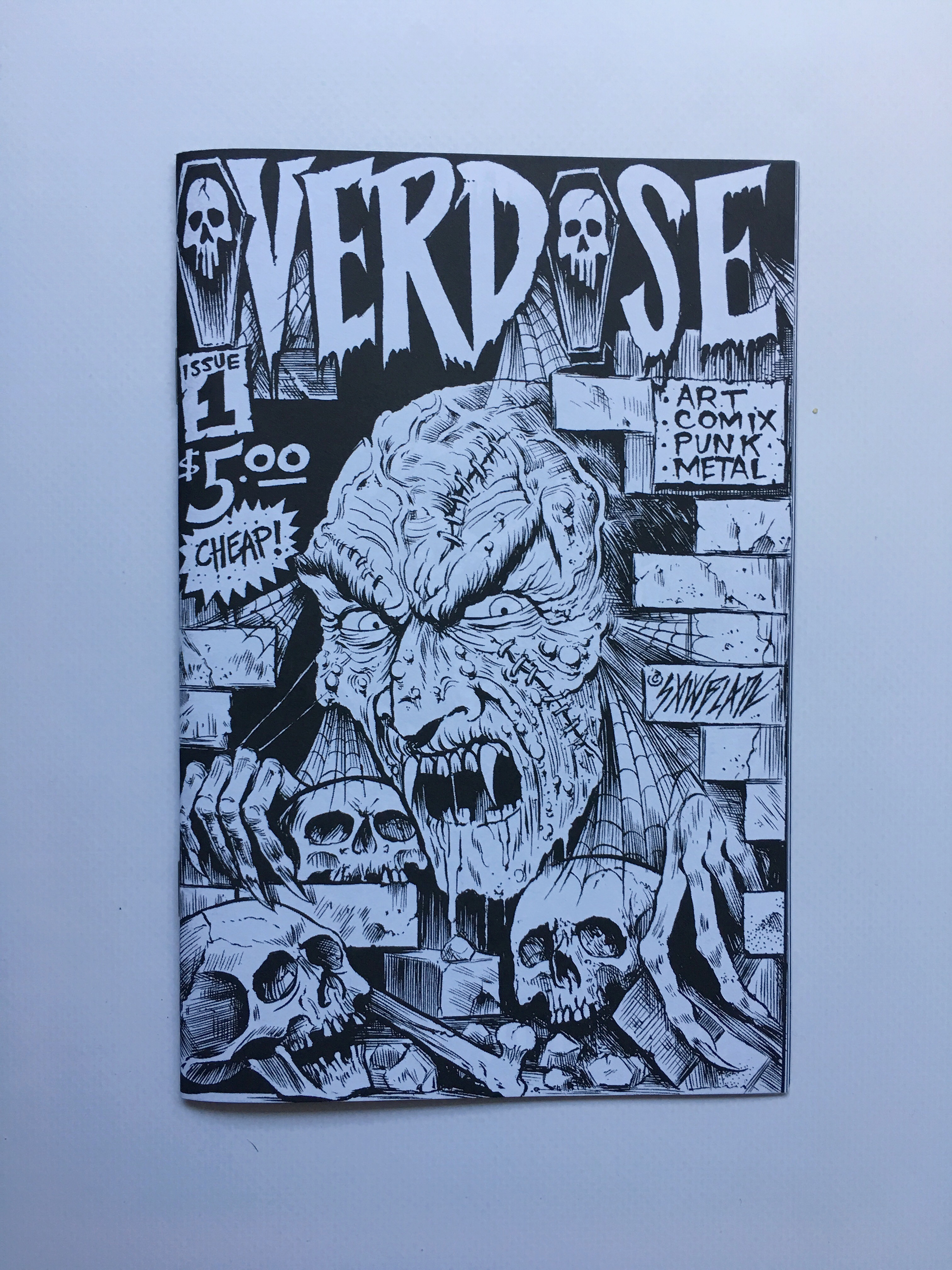 overdose zine