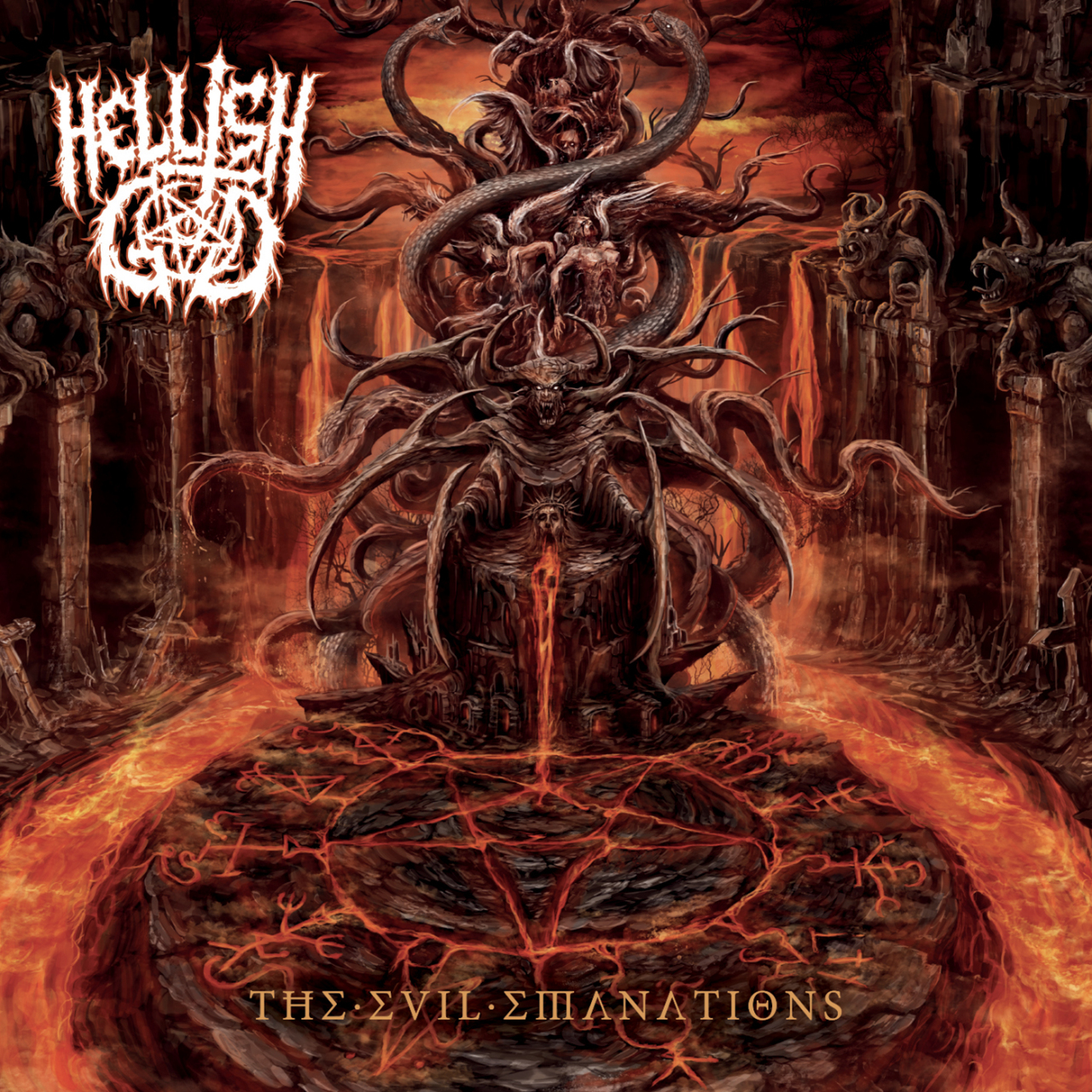 hellish god the evil emanations