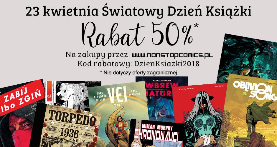 rabat non stop comics